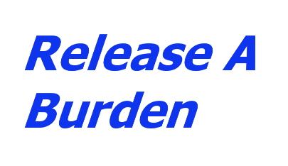 Release A Burden